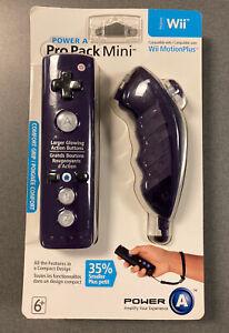 Powera Pro Pack Mini for Wii / Wii U / Purple / has Wii motion plus BRAND NEW