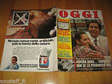 OGGI 1978/30=CORRADO=DORA MORONI=IVA ZANICCHI=RUDOLF NUREYEV=GIGI PROIETTI=