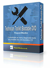 Windows Ultimate Boot DVD Computer Maintenance Repair Technician Toolkit PC DVD