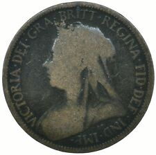 1897 HALF PENNY GB UK QUEEN VICTORIA COLLECTIBLE COIN    #WT31627