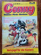 CONNY Mädchen Pferde Abenteuer Comic Nr. 169 BASTEI 1983