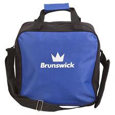 Brunswick TZone Single Tote 1 Ball Bowling Bag Blue