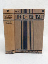 James Boswell LIFE OF JOHNSON 1931 First MODERN LIBRARY EDITION