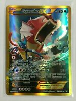 Gyarados EX SECRET FULL ART ULTRA RARE 123/122 GOLD Pokemon XY BREAKpoint NM