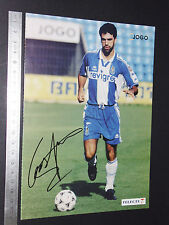 CARTE OS CRAQUES D'O JOGO PORTUGAL 1996-1997 FOOTBALL FUTEBOL GASPAR FC PORTO