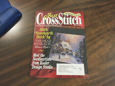 Just Cross Stitch Pattern Magazine December 1998 Thomas Kinkade