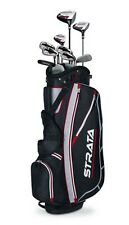 Callaway Mens Strata Complete Golf Club Set Left Handed 12 Pieces With Bag
