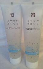 AVON TRUE NUTRA EFFECTS GENTLE SCRUB CLEANSER 100ml - x2 *BRAND NEW*