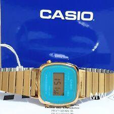 CASIO DIGITAL GOLD TONE RETRO VINTAGE Ladies Classic Quartz LA670WGA-2D FreeShip