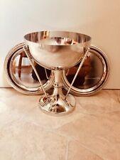 Job Lot Silver Plated Vintage EPNS Golf Trophy & 2x Salvers - #508 - Free UK P&P