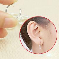 2pcs Body Jewellery Clip On Fake Piercings Rings Ear Nose Lip Belly Earrings