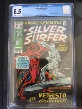 Silver Surfer #16, CGC VF- 8.5, Mephisto And Nick Fury Appearance