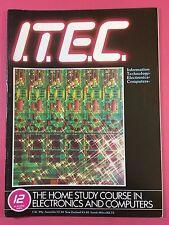 I. T. decir C 1980's electrónica & ordenador Tecnología REVISTA - PART 12