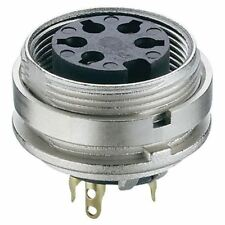 Lumberg kgv 81 8 Pines Din Hembra Conector de chasis IEC 60130-9 POSTERIOR
