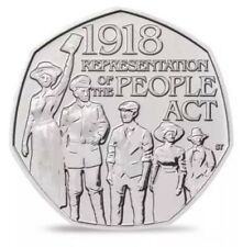 50p Coin UK – Representation of the People Act 2018 – Cheap and fast