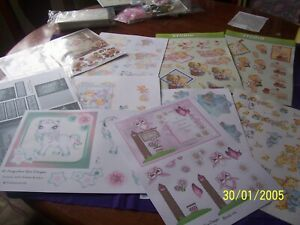 card making /scrapbooking 23 decoupage sheets