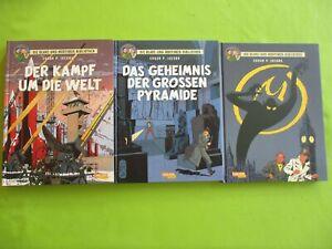 Blake und Mortimer Bibliothek Band 1,2,3  Hardcover  Carlsen Verlag
