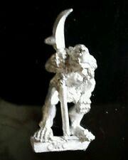 1x c27 orc metal citadel gw vintage spear polearm ballista crew Gubspor fig #A