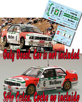 Decal 1:43 Jose Maria Ponce - BMW M3 - Rally El Corte Ingles 1995