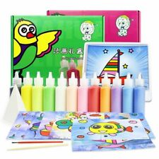 Drawing Board Sets Sand Painting Toy Children Bubble Art Sand Handmade Craft