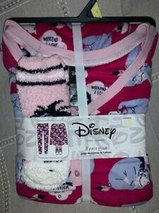 Women's Disney Eeyore Comfy Pajama 3pc Set, sz Large, NWT