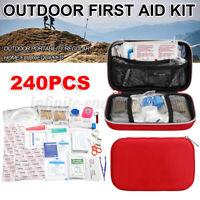 240Pcs/Set First Aid Kits Emergency SOS EDC Survival Kit Gear Outdoor Camping ↗
