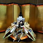 MINT Japanese doll Samurai warrior Figure Emperor Lord sword in Kimono Gorgeous