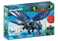 Playmobil 70037 Dreamworks Dragons Hiccup and Toothless W/Baby Dragon MIB / New