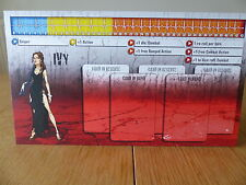 Zombicide - Ivy - Character Dashboard Card (Card only)