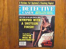 "Dec- 1982    ""Detective  Cases""   Magazine (RAYMOND LEE STEWART/SILKY RICHARDSON"