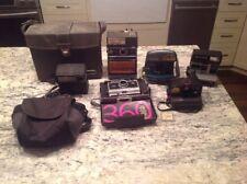 LOT OF 4 Polaroid Kodak Instant Film Land Cameras Express 360 600 Pronto + Xtras
