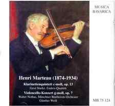 Musica Bavarica CD Henri Marteau (1874-1934)