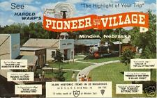 Pioneer Village, Minden, Nebraska  postcard