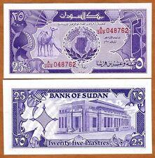 Sudan, 25 Piastres, 1987, P-37, UNC