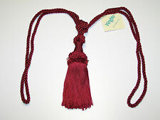 """Curtain & Chair Tie Back- 30""""spread w/ 6"""" tassel 8 bright colors to choose from!"""