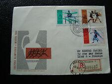 POLOGNE -  enveloppe 2/9/1968 (cy22) poland