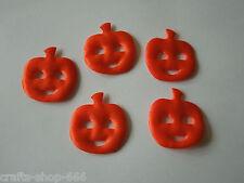 20 Kürbisse Satin Halloween Streuelemente Tischdeko  Streudeko Basteln - neu