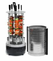 Tabletop Electric Indoor Shashlik Barbeque Grill BBQ 220V High Quality Device