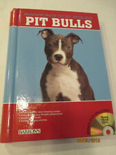 American Pit Bull Terrier Bully Bible Book Tips Training Cd Puppy Pitty Barron'S