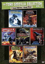 The Toho Godzilla Collection Vol. 2 (DVD, 2015, 4-Disc Set)