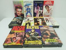 Vintage Lot of 11 The Elvis Presley Collection VHS Tapes Movies Video Tape Hi Fi