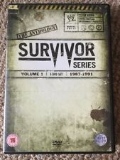 WWE - Survivor Series Anthology Volume 1 DVD Box Set 1987 - 1991 Region 2 WWF