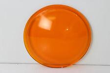"Vintage Kopp Glass AP-3510 Amber Glass Traffic Railroad Lens - 8 3/8"" - NEW**"