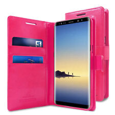 For Samsung Galaxy Note 8 Durable Slim flip wallet leather case Cover