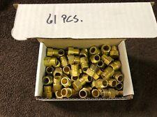 """New listing 61 Radnor 5/8"""" Cga-032 Rh Threaded Female to 18B-Size Inert Gas Hose Nut"""