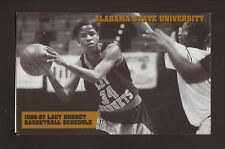 Alabama State Hornets--1996-97 Basketball Pocket Schedule--Winn-Dixie