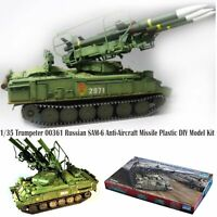 1/35 Trumpeter 00361 Russian SAM-6 Anti-Aircraft Missile Plastic DIY Model Kit