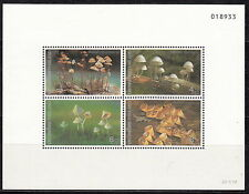 TAILANDIA THAILAND 1993 Foglietto Sheetlet Funghi Mushroom Yvert  BF45 MNH**