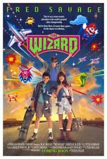 "THE WIZARD Movie Poster [Licensed-NEW-USA] 27x40"" Theater Size (Savage) 1989"