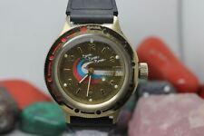 Vostok Komandirskie Russian Diver Amphibian Automatic Wrist Watch Running